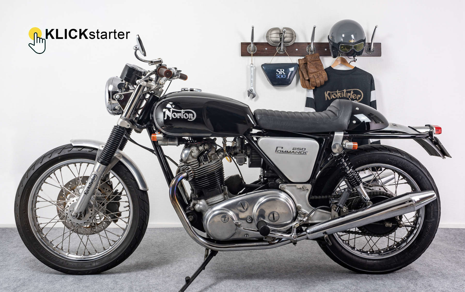 Kickstarter Shop Cafe Racer Scrambler Tracker Umbauteile