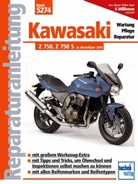 Motorbuch Engine book No. 5274 repair instructions KAWASAKI Z 750, 04-