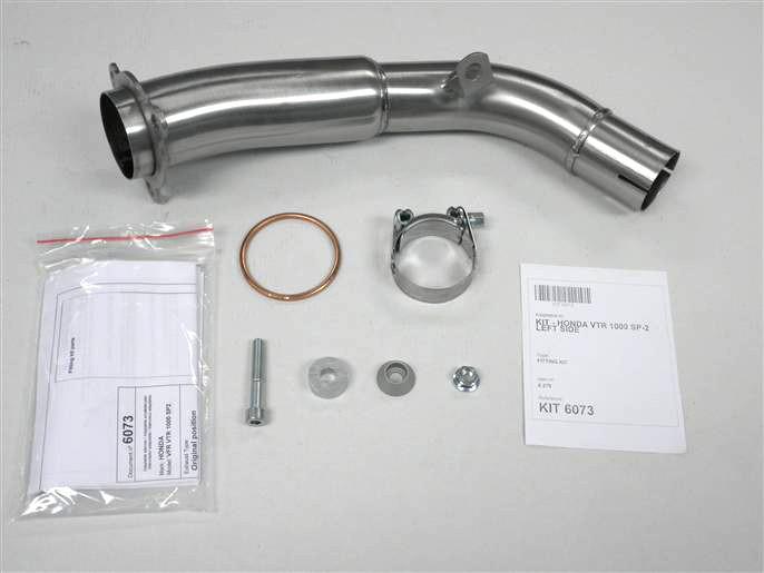 IXIL Adapterrohr, VTR 1000 SP2, linke Seite