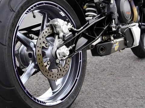 - Kein Hersteller - Rim sticker black, GP style