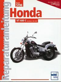 Motorbuch Engine book No. 5198 repair instructions HONDA VT 600 C, 88-