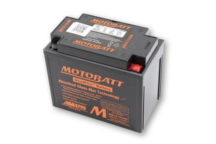 MOTOBATT Batterie MBTX12UHD, schwarz
