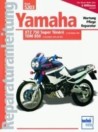 Motorbuch Engine book No. 5203 repair instructions YAMAHA XTZ 750 Ténéré, ab 88/TDM 850, ab 91