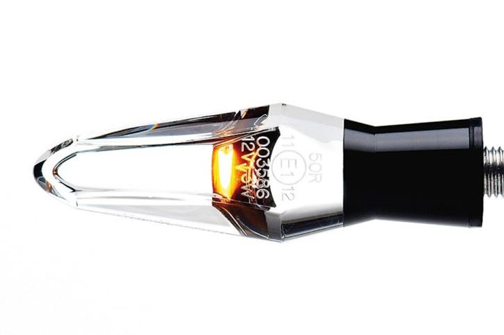 motogadget LED Blinker m-Blaze ICE, schwarz