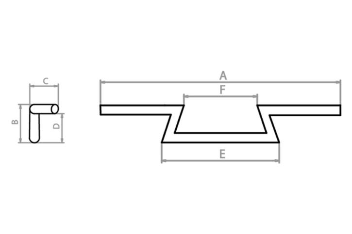LAGERRÄUMUNG: FEHLING Lenker, schmaler Ape-Hanger 1 1/4 Zoll, 1035 mm breit, schwarz