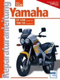 Motorbuch Engine book No. 5220 repair instructions YAMAHA DT125R, TDR125
