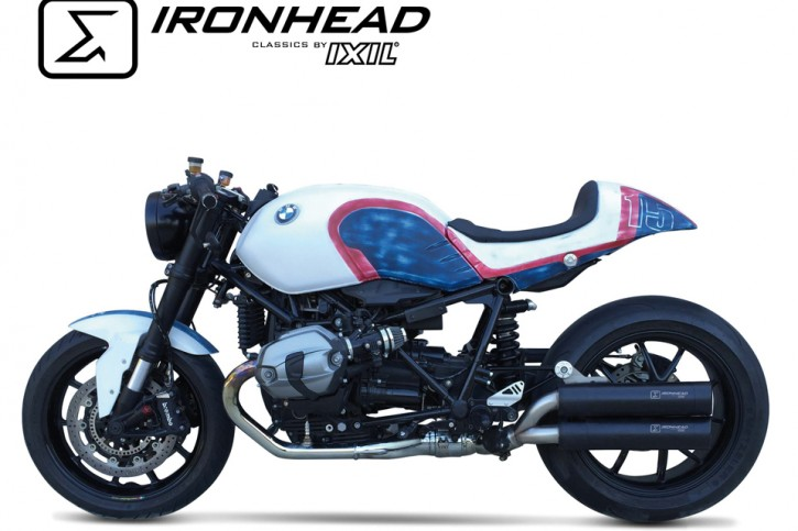 IRONHEAD silencer BMW R Nine T, 14-