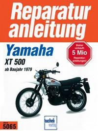 Motorbuch Engine book No. 5065 repair instructions YAMAHA XT 500 (1979-90)