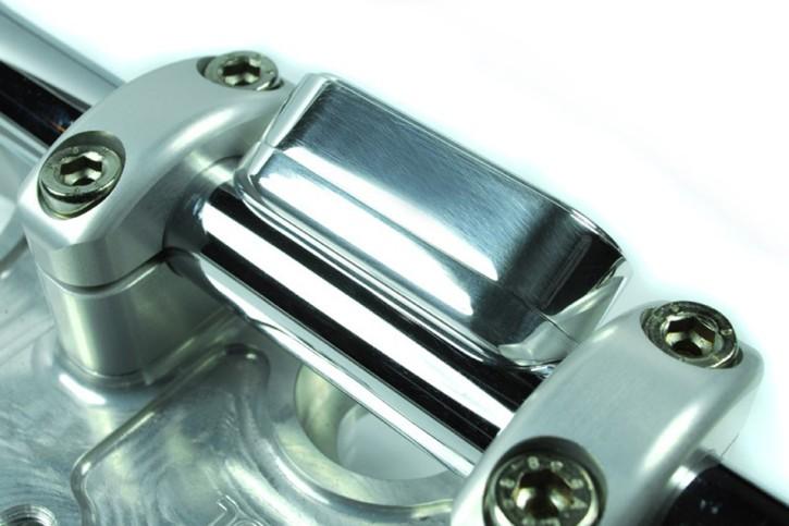 motogadget Msm combi 22mm handle bar bolt-on-bracket, polished