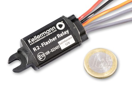 Kellermann Blinkrelais R2, 12 Volt