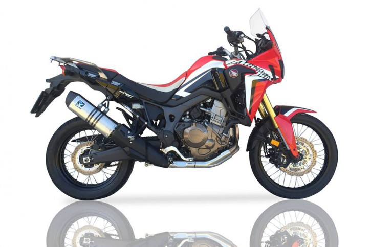 IXIL Silencer HEXOVAL XTREM Evolution, stainless steel, CRF 1000 L Africa Twin, 16-