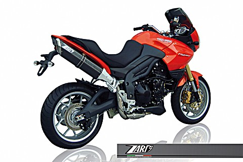 ZARD Silencer PENTA TRIUMPH Tiger 1050, high mounted