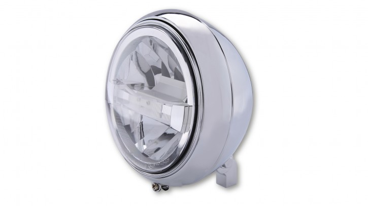 HIGHSIDER HIGHSIDER LED headlamp YUMA 2 TYPE 4, bl., bottom mount