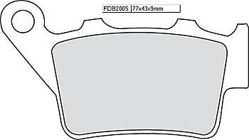 FERODO Sinter disc brake pad FDB 2005 ST