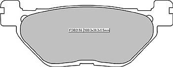 FERODO Disc brake pad FDB 2162 P