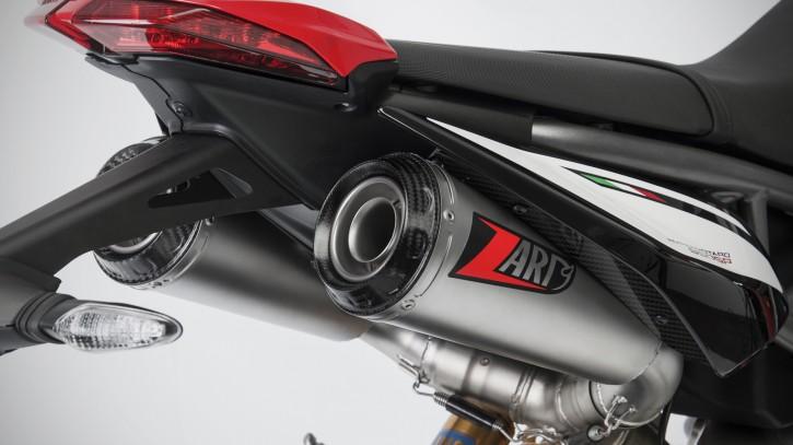 ZARD Top Gun 2-2 Slip on exhaust system DUCATI Hypermotard 950/SP, 19-
