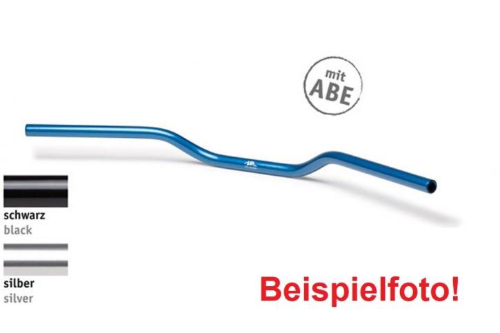 """LSL Aluminium-LENKER """"Superbike A01"""", 22,2 mm, silbern eloxiert, m. ABE"""
