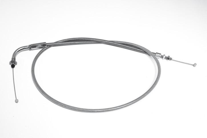 - Kein Hersteller - Steel braided throttle cable, VT600 C, 150 mm extended