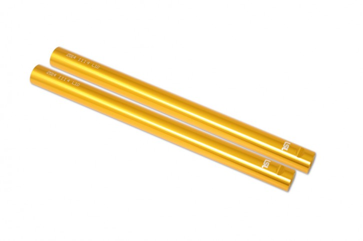 LSL Sport Match CLIP ON handlebar tube pair, gold