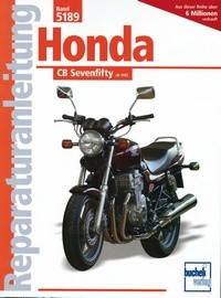 Motorbuch Engine book No. 5189 repair instructions HONDA CB 750 Sevenfifty (1992-)