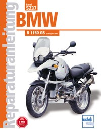 Motorbuch Engine book No. 5237 repair instructions BMW R 1150 GS, 00-