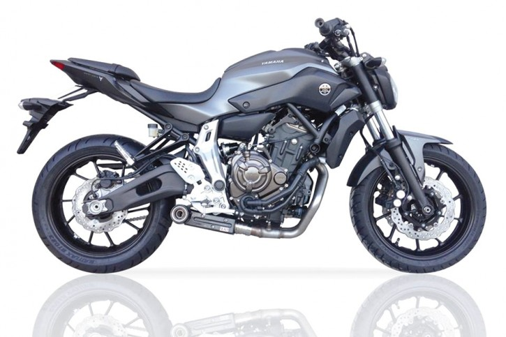 IXIL SX1 stainless steel complete system for YAMAHA MT-07, 17-, XSR 700, 17- (Euro4)