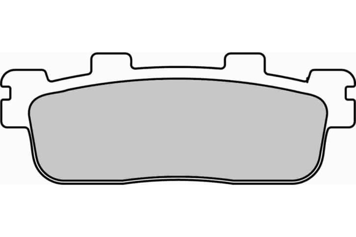 FERODO Disc brake pad FDB 2248 EF