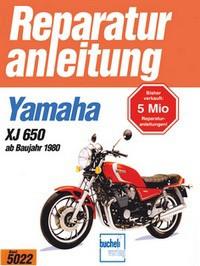 Motorbuch Engine book No. 5022 repair instructions YAMAHA XJ 650
