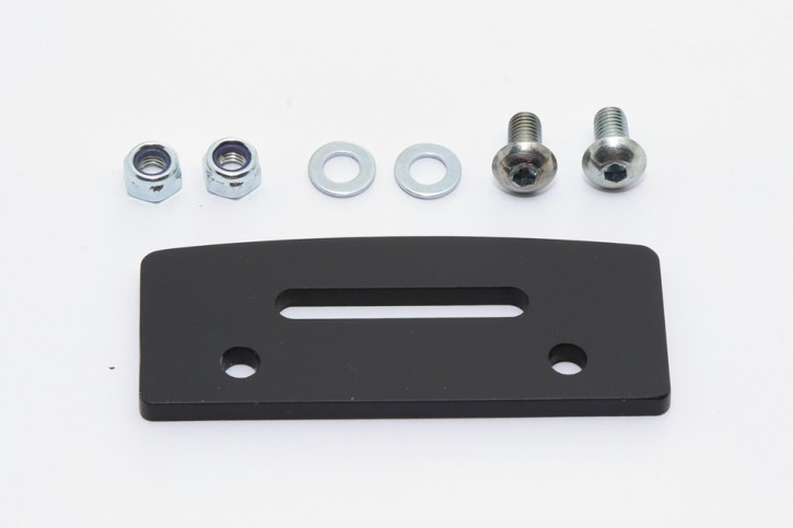 HIGHSIDER Alu Bracket for several license plate lights.