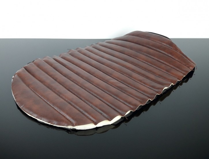 Artificial LEATHER for motorcycle seats, vintage brown