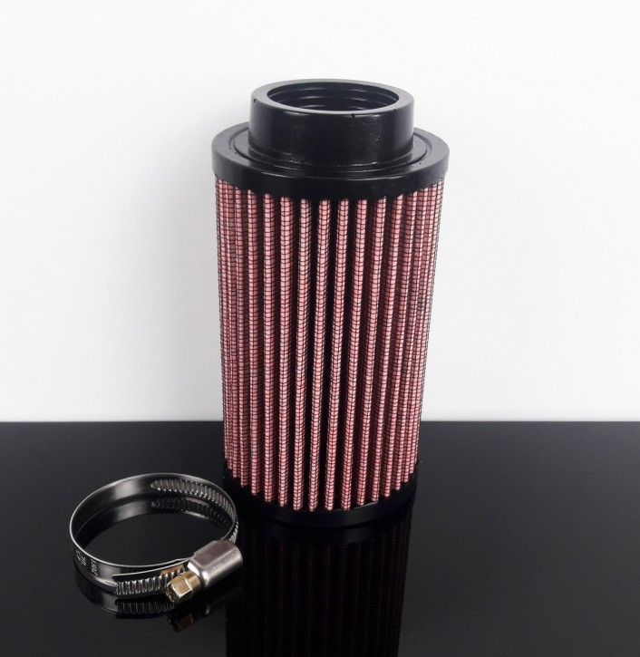 AIR FILTER, f. 40-45mm carb connections