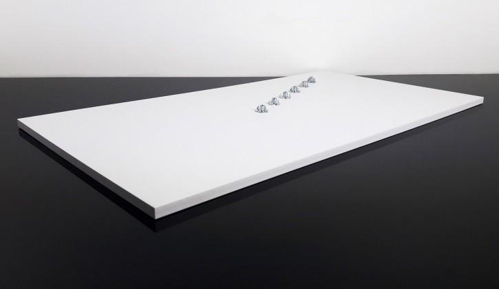 SITZBANKGRUNDPLATTE, Thermoplast 610x330x10mm