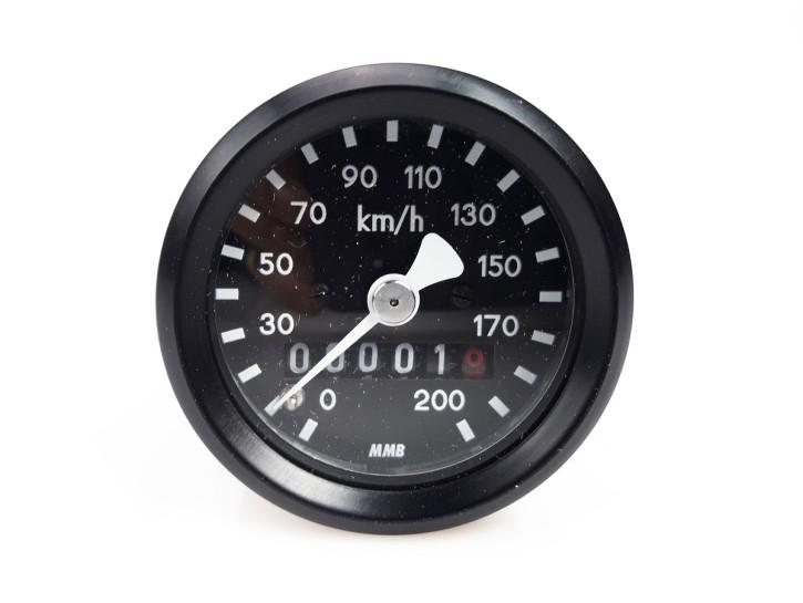 Speedo für BMW, 48mm, R 65 80 100 RT RS /5 /6 /7