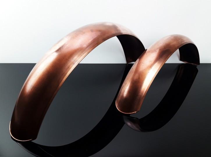 2 KOTFLÜGEL aus Kupfer! (vorne und hinten), Sonderanfertigung