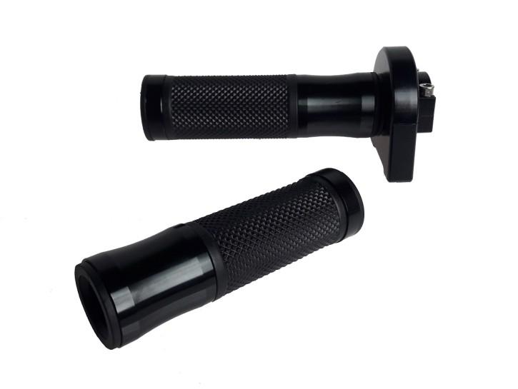 GASGRIFF + 2 GRIFFGUMMIS, f. 22mm Lenker, schwarz