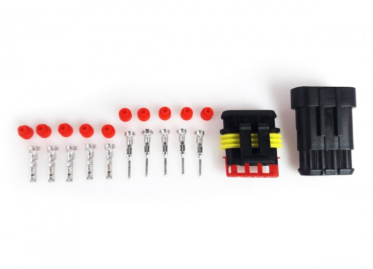 Waterproof MULTIPOINT CONNECTOR WD 4-pin