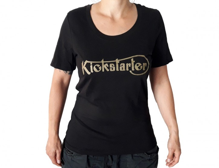 KICKSTARTER T-SHIRT for girls, organic cotton  XS