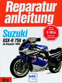 Motorbuch Engine book No. 5112 repair instructions SUZUKI GSX-R 750