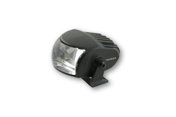 LED- Abblendscheinwerfer COMET- LOW, matt schwarz