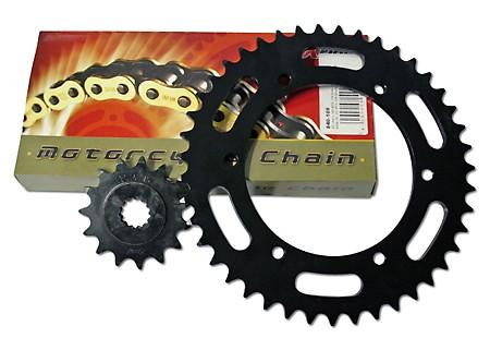 DID Kette und ESJOT Räder DID chain and ESJOT sprocket VX chain kit GS 400, 77-79