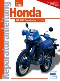 Motorbuch Engine book No. 5206 repair instructions HONDA NX 650 Dominator, 88-