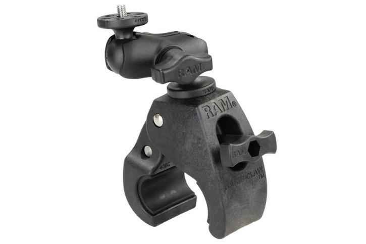 RAM Mounts Tough-Claw Kamerahalterung (kurz) mit 1/4 Zoll-20 Gewindestift - mit Tough-Claw (mittel)