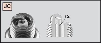 CHAMPION Spark plug L77JC4
