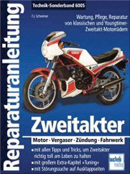 Motorbuch Engine book No. 6005 instruction manual for 2stroke motorcycles
