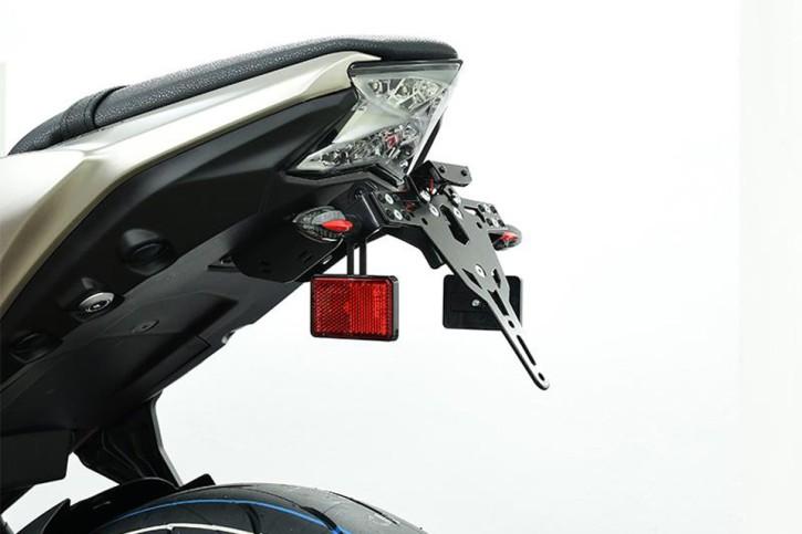 IBEX Halter-Set für Reflektoren am Blinker, M10, Euro-4 Kennzeichenhalter