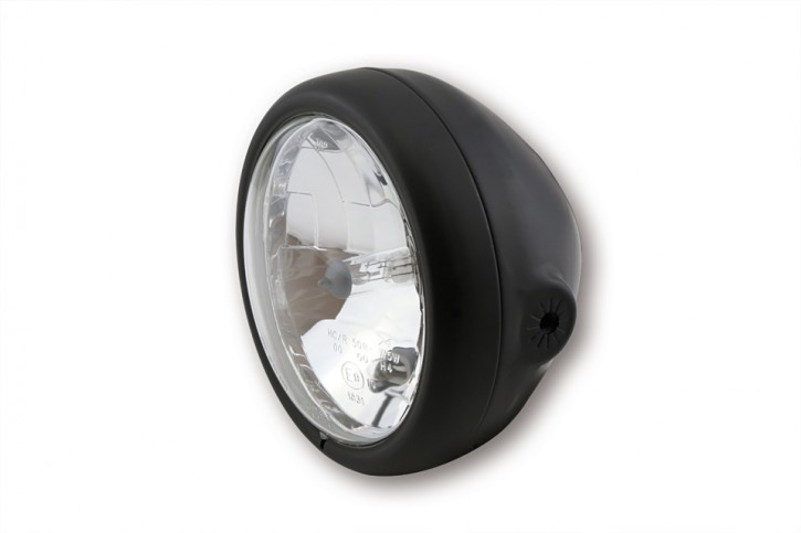 SHIN YO 5 3/4 inch main headlight PECOS, matte black