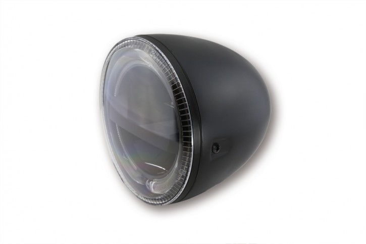 HIGHSIDER 5 3/4 Zoll LED Hauptscheinwerfer CIRCLE, schwarz