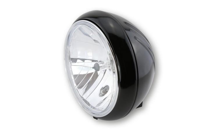 SHIN YO 7 inch YUMA 1 main headlamp,shiny black