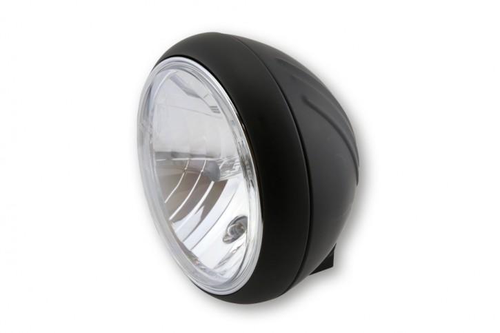 SHIN YO 7 inch YUMA 1 main headlamp, matte black