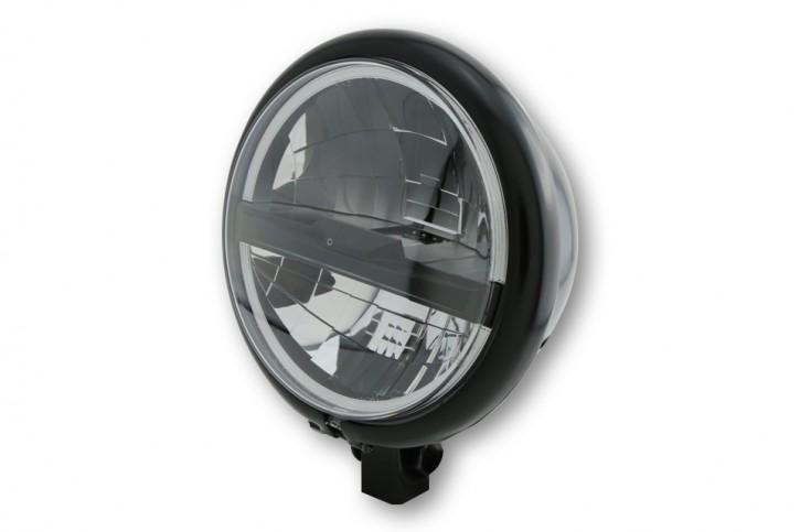 HIGHSIDER 5 3/4 Zoll LED Scheinwerfer BATES STYLE TYP 5, schwarz